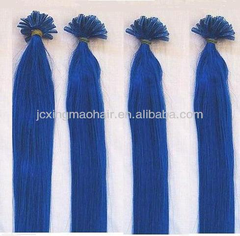 Wholesale Remy Human Indian Hair Nail U-tip spirit hair