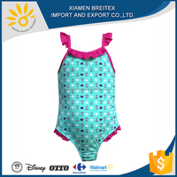 2016 OEM Wholesale girl swimwear for simple design