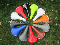 fixed gear bike saddle colorful seat