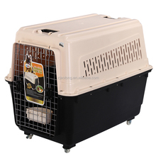Low MOQ Plastic Handle Pet Carrier On Wheels & Walking Pet Carrier
