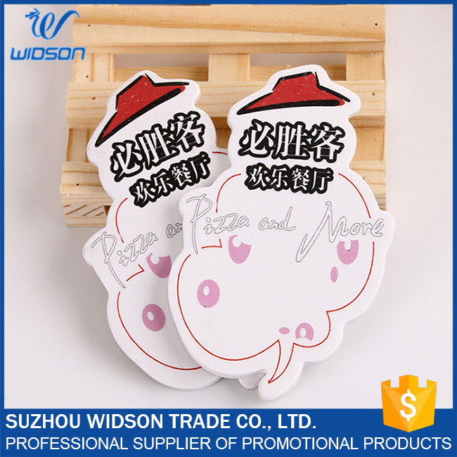 Sticky notes in different shapes, customized logo magnetic sticky memo pad