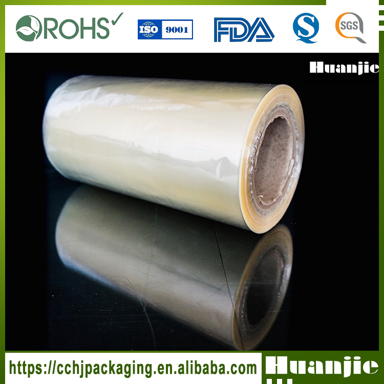 Transparent Soft Pvc Heat Shrink Film