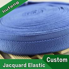 jacquard elastic band hot promotional elastic band design your own logo on band