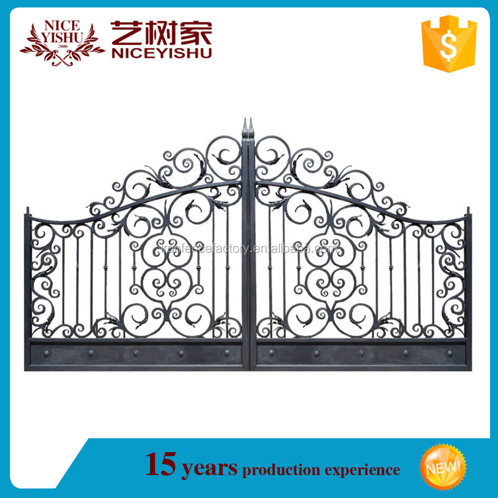 Modern house gate grill designs/luxury wrought iron gate/steel gate drawing
