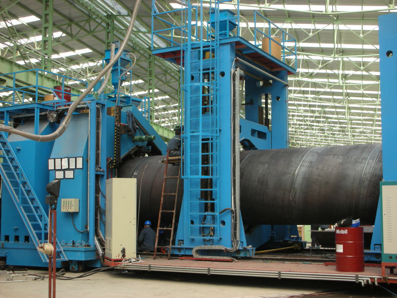 For 219-720mm Spiral Welded Pipe Equipment