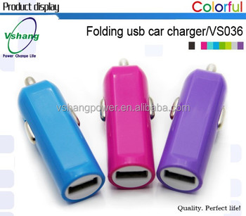 2015 Hot selling Fashion Micro Car USB Charger phone charger plates Automatic battery charger