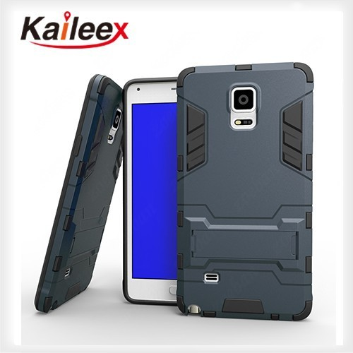 New Arrival Kickstand Case For Samsung Galaxy Note 4 Phone Case Protective Cover Case With Y Stand