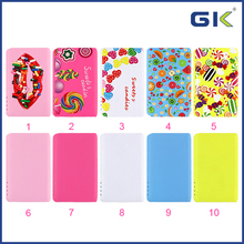 [GGIT] Customizable Candy Colorful 8800mAh Portable Slim Power Bank For IPhone For Android