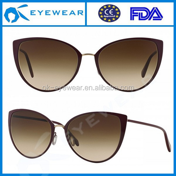 Cat eye sunglasses wholesale in china