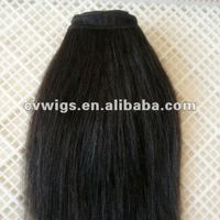 Factory Wholesale virgin short Italian yaki hair extension in stock