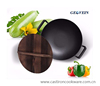 cast iron big wok