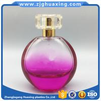 Beautiful egg shape empty perfume glass bottle 60ml with Optional bottle surlyn cup