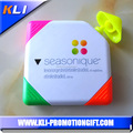 Square shape 4 colors highlighter pen