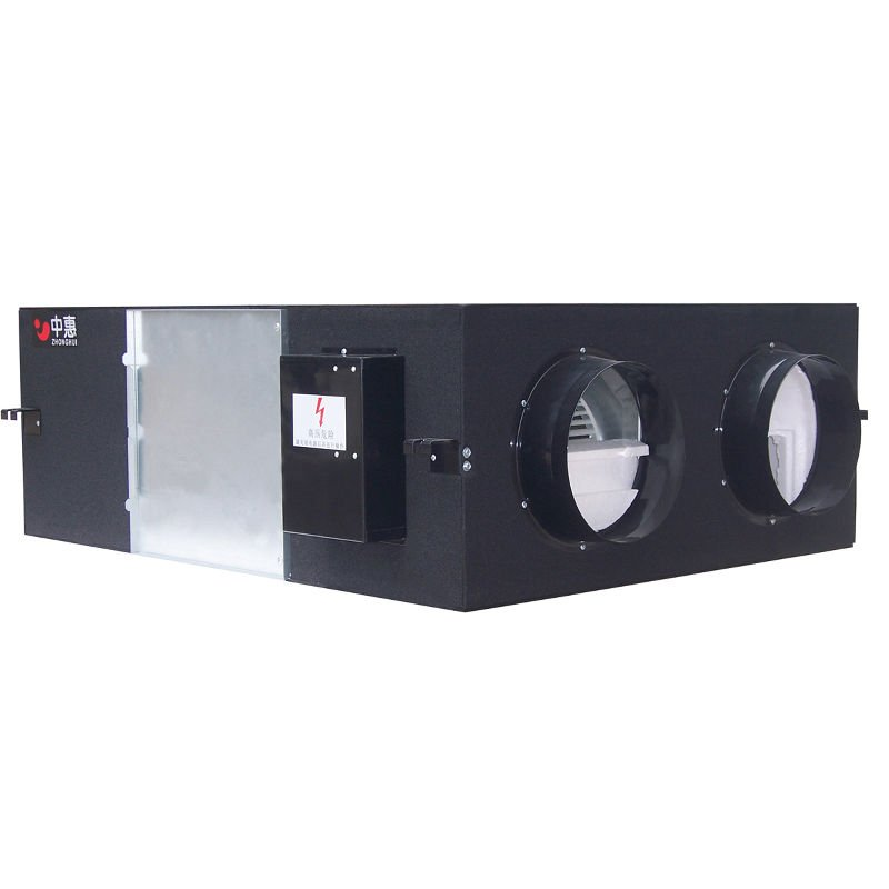 air to air heat exchanger ventilation conditioning used medical home ventilators