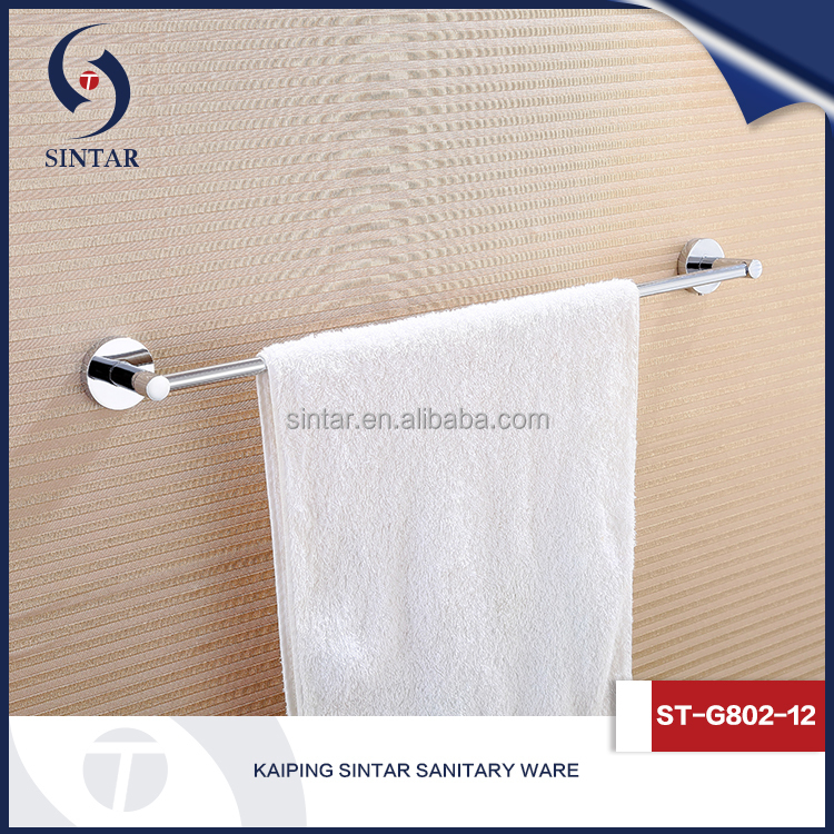 modern towel rack mounting bathroom hardware for portable towel rack