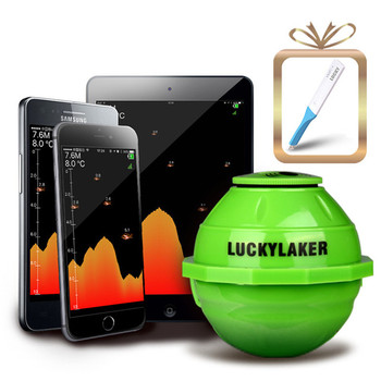 wireless hot sale lucky fish finder sonar for Phone