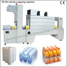 Semi-Automatic PE Film Shrink Wrapping /Bottle Package Machine