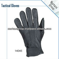Leather Tactical Gloves Police Gloves Military