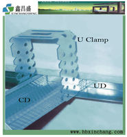Accessories for ceiling U clamp