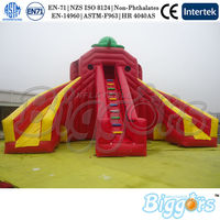 Inflatable Bouncer Lake Slides Inflatable Double Lane Slip Slide