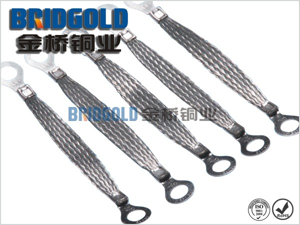 Tin Coated Braided Earth Connectors AWG32