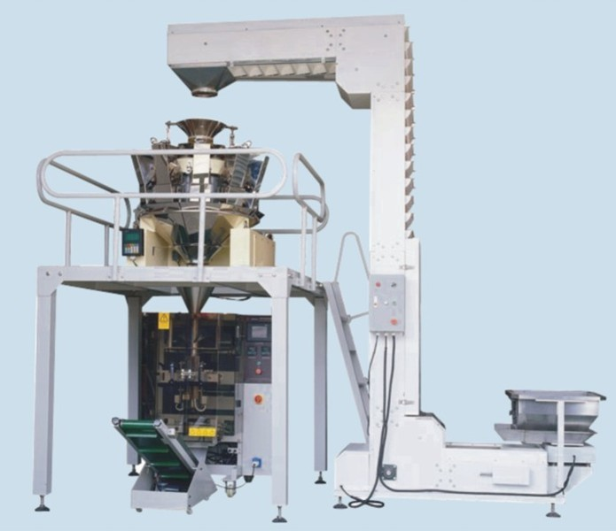 Haricot Vert Electric Scale Automatic Granule Packing Machine