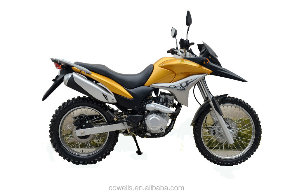two wheel high quality gas powere big dirt bike 200cc. Black Bedroom Furniture Sets. Home Design Ideas