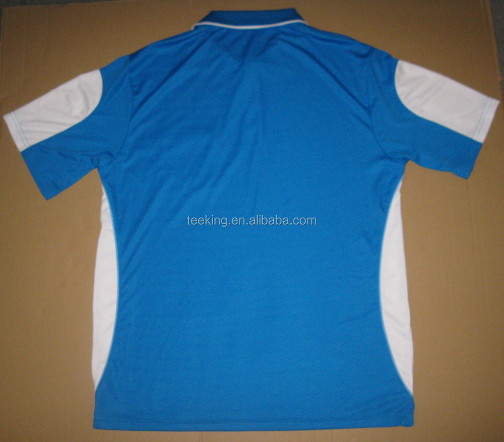 Custom cheap quick dry polyester contrast color polo shirt for Custom polyester polo shirts