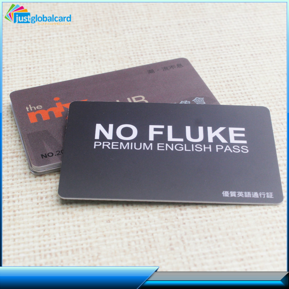 Fancy low price unique design personalized oem printing pvc card
