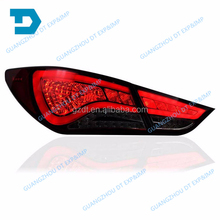 2011 2012 2013 2014 2015 ELANTRA AVANTE BLACK LED TAIL LAMP