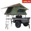 2014 professional motorcycle camper trailer with kitchen and tent