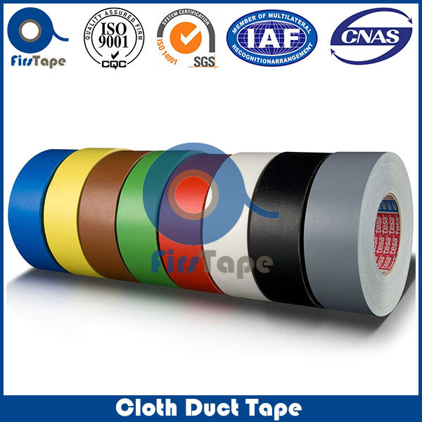 ISO SGS CERTIFICATE BLACK BOOK BINDING ADHESIVE CLOTH TAPE