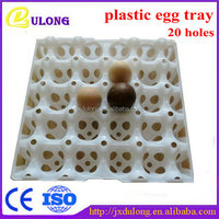 Plastic transferring 20-cell egg tray