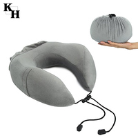 Memory Foam Neck Pillow Makes Relief and Support for Travel Home