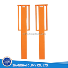 Olimy orange fiberglass driveway marker FRP marker post