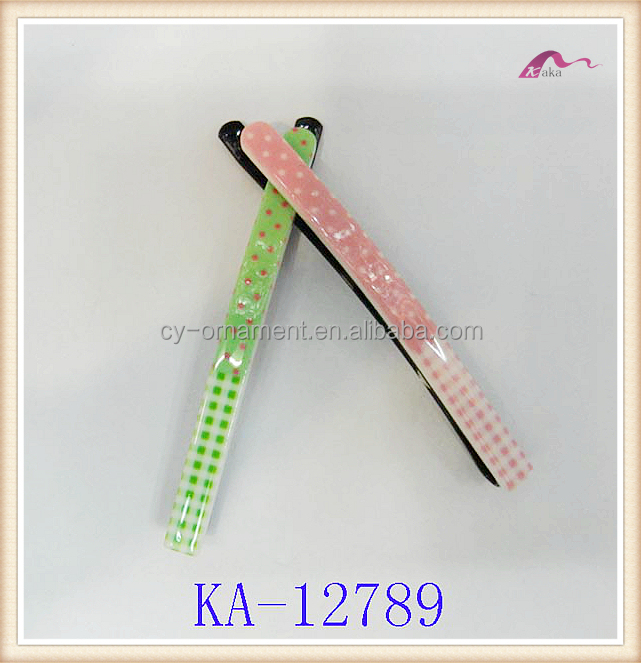 2016 Fashion hair accessory candy color bobby pin