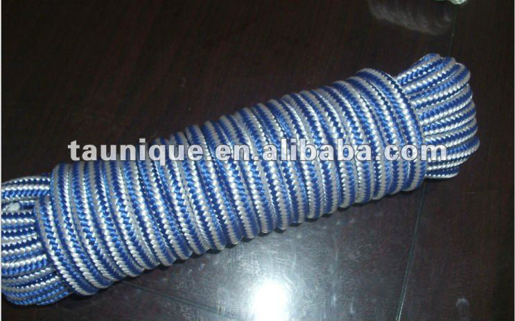 "Diamond Braided MFP Rope 3/8"" x 50' All-Purpose Light Weight Floating Line"