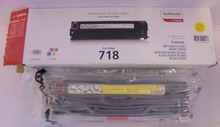 original color toner cartridges 718 for Canon 2.9k yield