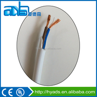 2 core flexible PVC electric wire and cable