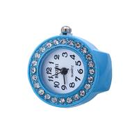 new arrivals 2016 women fashion popular stone finger ring watches custom logo cheap watch