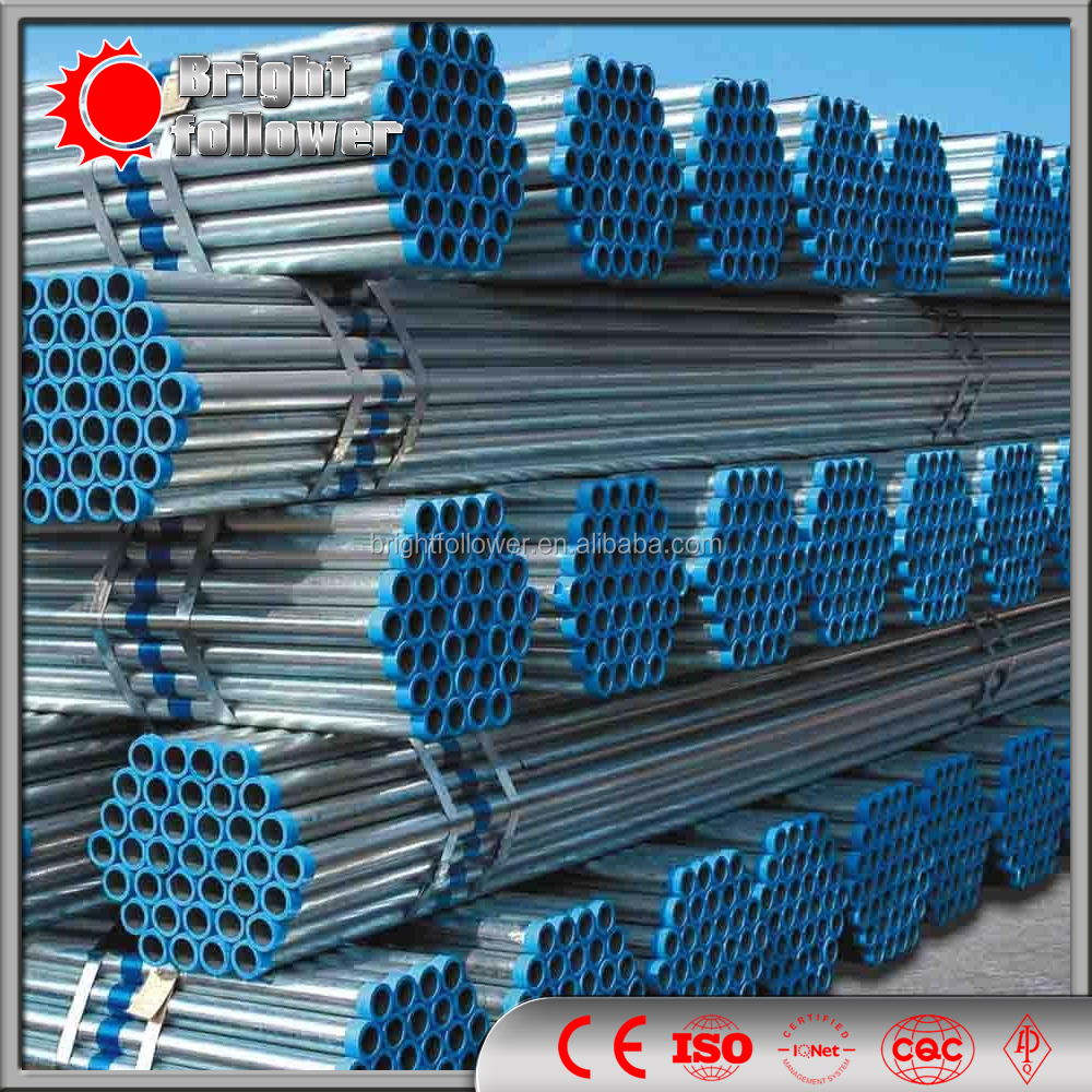 ASTM A53 carbon steel pipe API 5L/SCh 40 Sch 80 Carbon seamless Steel pipe