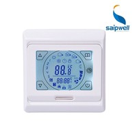 Manufacturer Saipwell Hostels Thermostat Touch Screen Temperature Controller SP-M9