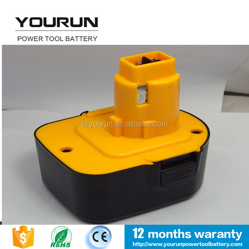 Dewalt 12v 3000mAh Replacement Battery DE9037 DE9071 DE9072 DW9072
