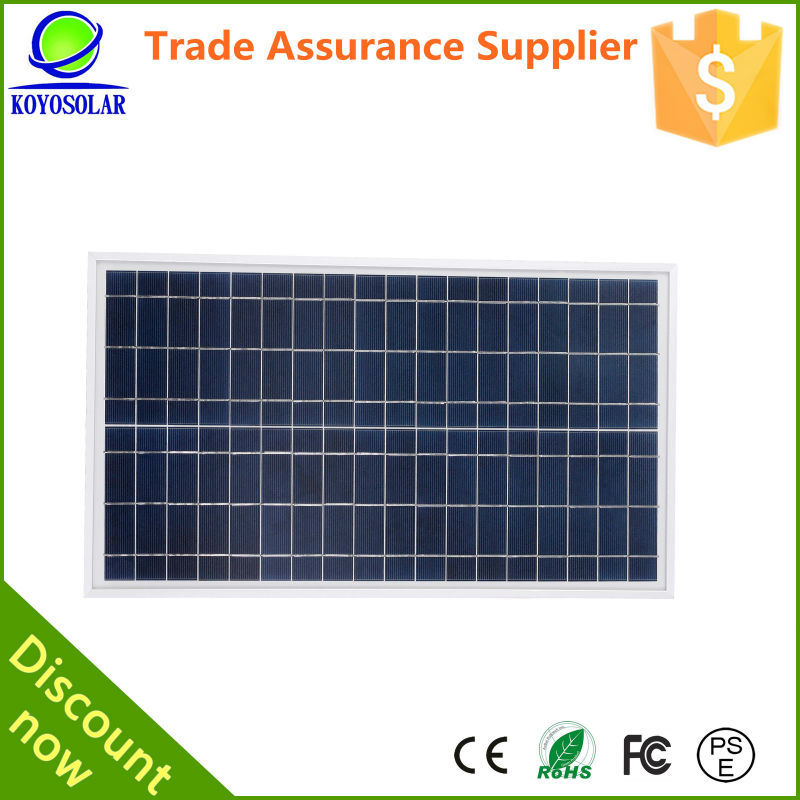 A-grade cell high efficiency 5W-300W PV solar panel