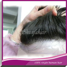 High quality 7A Grade dance hair pieces/ toupees for black men