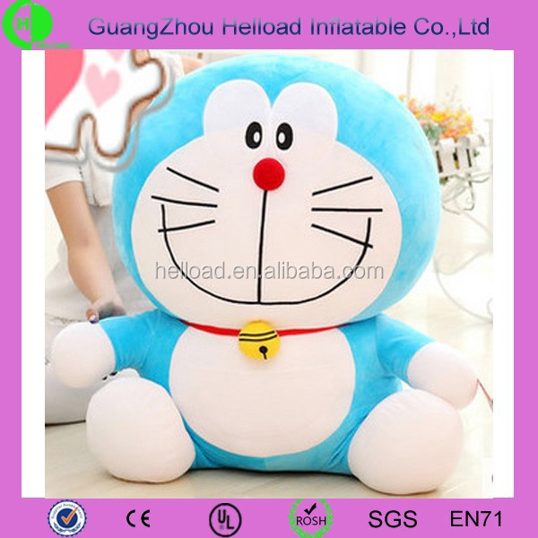 hot sale lovely plush doraemon for gift