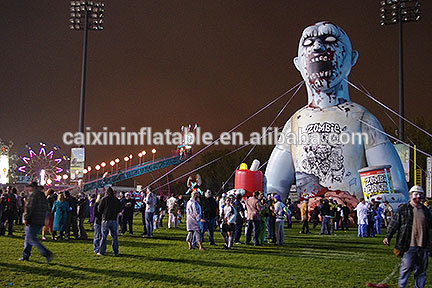 Airblown Inflatable Animated Shaking Zombie