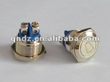 (16mm) momentary doorbell push button switch(ROHS)