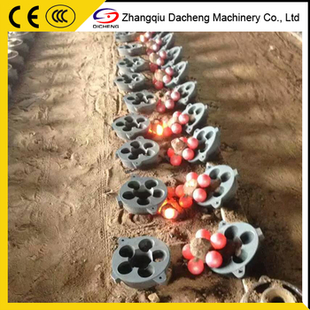 Middle Chrome Cast Grinding Steel Ball For Ball Mill