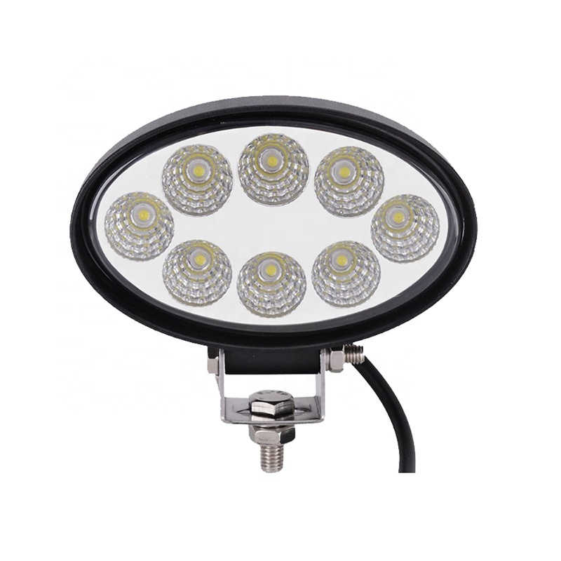 OVOVS universal driving lamp 24w <strong>auto</strong> oval led work light for <strong>auto</strong>, 4x4 car accessories